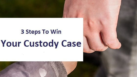 blog title - 3 steps to win your custody case